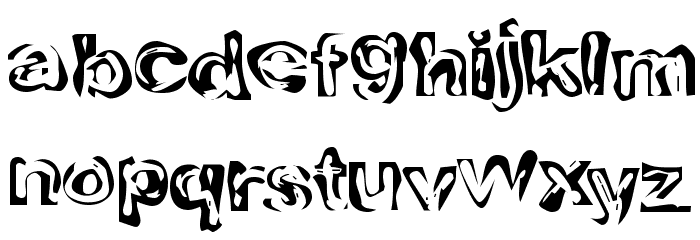 Playdough Font LOWERCASE