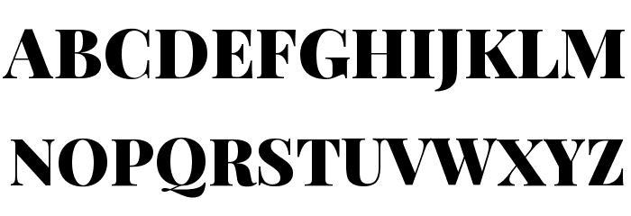 Playfair Display Black Font UPPERCASE