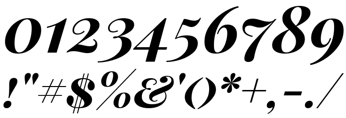 Playfair Display SC Bold Italic Font Alte caractere