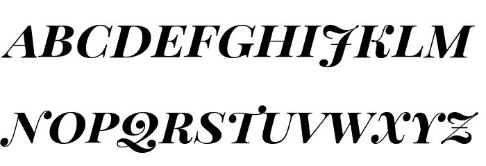 Playfair Display SC Bold Italic Fonte MINÚSCULAS