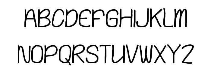 Playing Bumb Font UPPERCASE