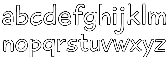 PlaytimeWithHotToddies3D Font LOWERCASE