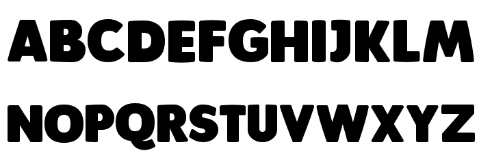 Plumpfull Font Litere mari