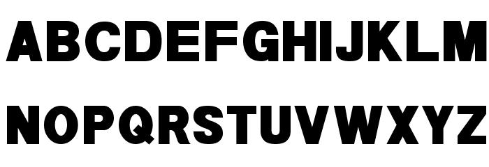 POE Sans New Black Font UPPERCASE