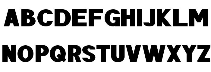 POE Sans Pro Expanded Heavy Шрифта ВЕРХНИЙ