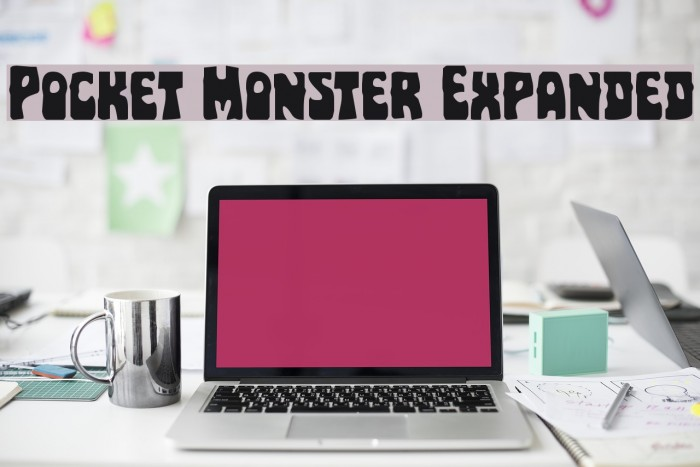 Pocket Monster Expanded Font examples