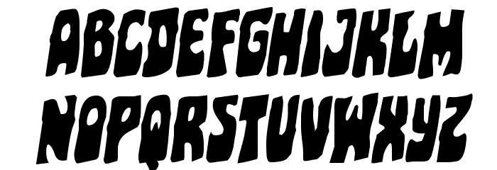 Pocket Monster Rotalic Font UPPERCASE