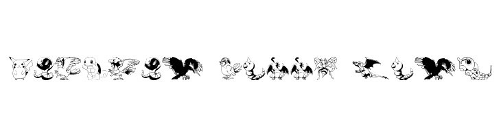 Pokemon Kiddy Ding  Free Fonts Download