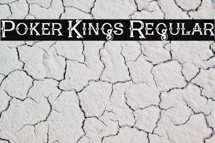 Poker Kings Regular Polices examples