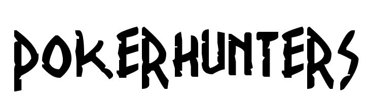 PokerHunters Font