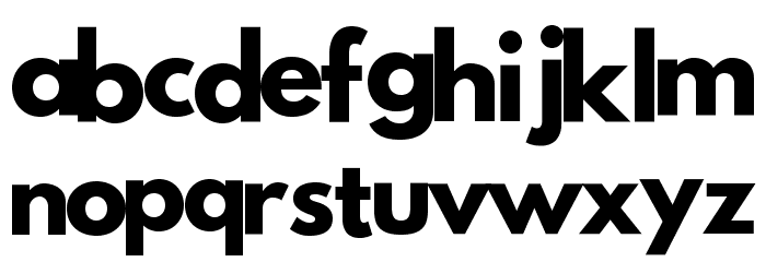 Poland Cannot Into Shqip Font LOWERCASE