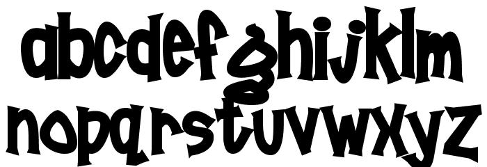 Poornut Font UPPERCASE