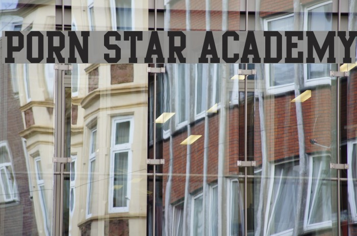 Porn Star Academy Font Comments - Free Fonts Download-5255