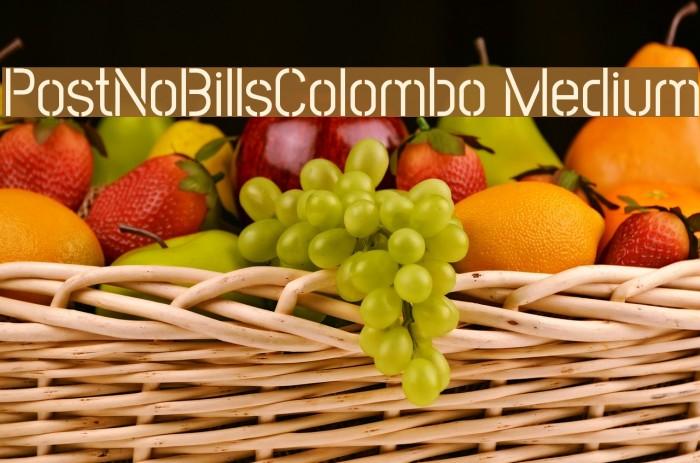 PostNoBillsColombo Medium Fuentes examples