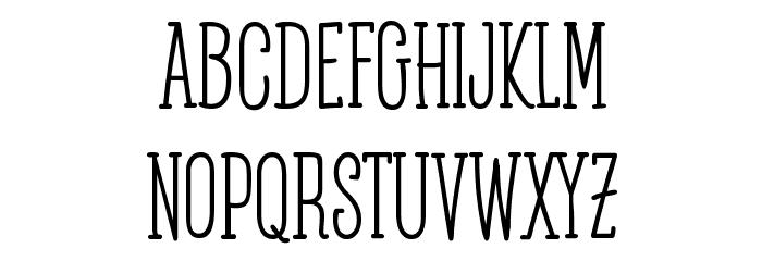 Posteratus-Rex फ़ॉन्ट लोअरकेस