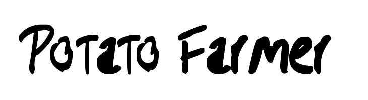 Potato Farmer  Free Fonts Download