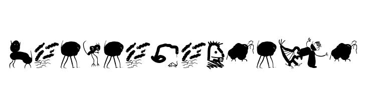 PotatoMonsters  Free Fonts Download