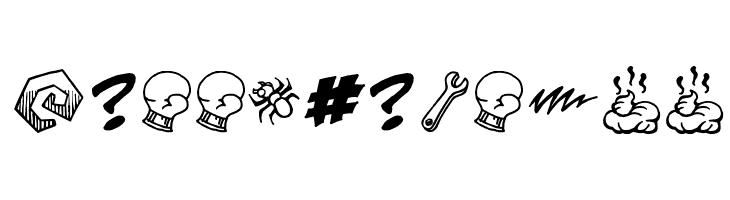 PottyMouthBB  Free Fonts Download
