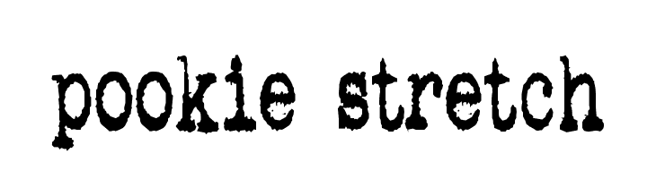 pookie stretch  baixar fontes gratis