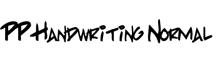 PP Handwriting Normal  Descarca Fonturi Gratis