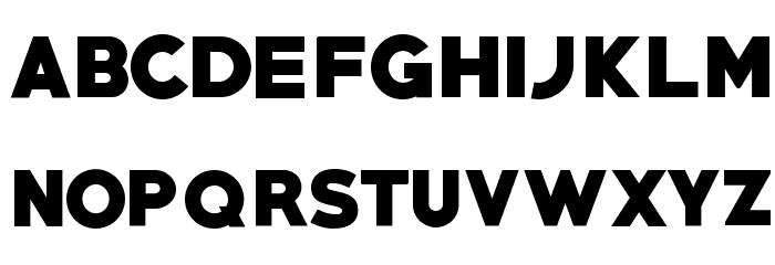 PRIMETIME Regular Font LOWERCASE