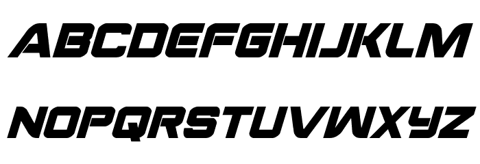 Praetorian Bold Italic Font LOWERCASE