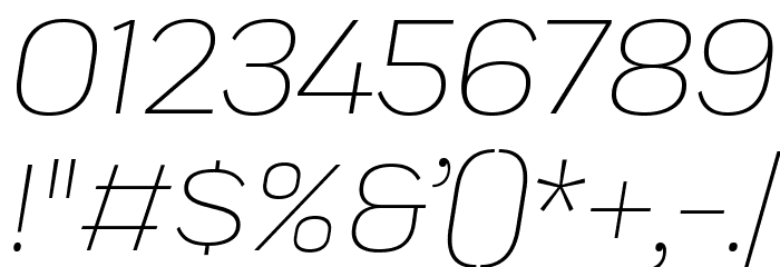 Praktika Light Italic 字体 其它煤焦