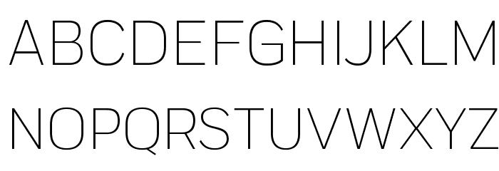Praktika Light 字体 大写