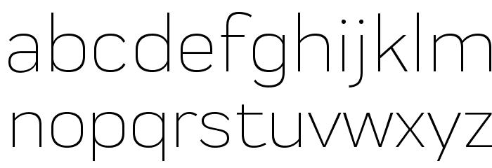 Praktika Light 字体 小写