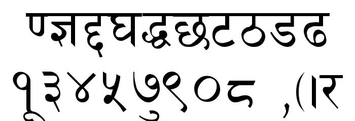Preeti Font OTHER CHARS