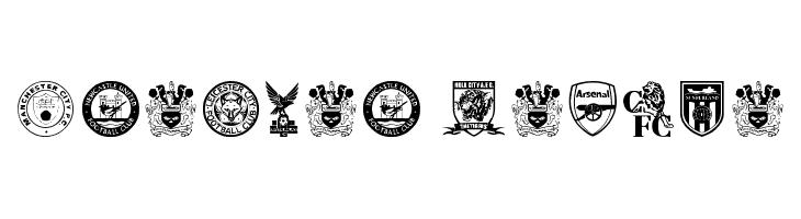Premier League  नि: शुल्क फ़ॉन्ट्स डाउनलोड
