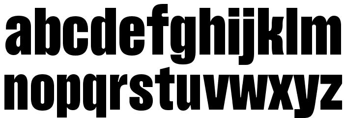 Pressuru Шрифта строчной
