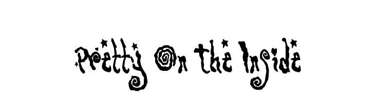 Pretty On The Inside  baixar fontes gratis