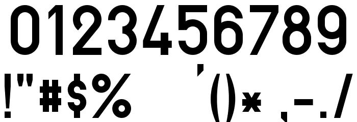 PreussischeIV44Ausgabe3 Шрифта ДРУГИЕ символов
