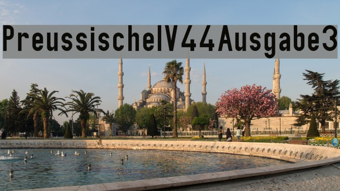 PreussischeIV44Ausgabe3 Шрифта examples