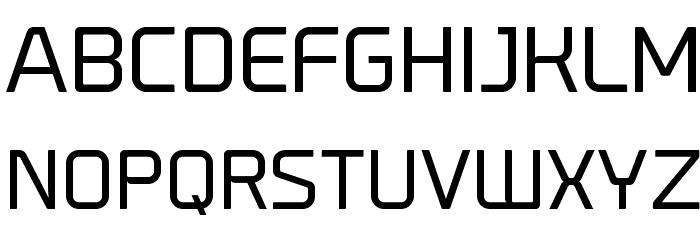 Prime-Regular Font UPPERCASE