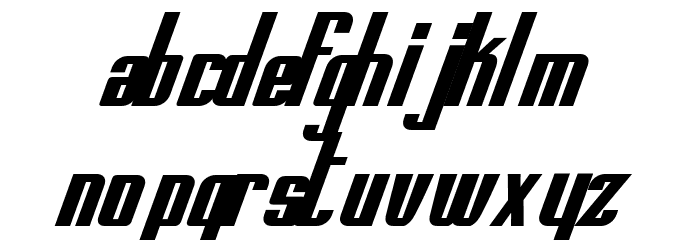 printed circuit board italic font