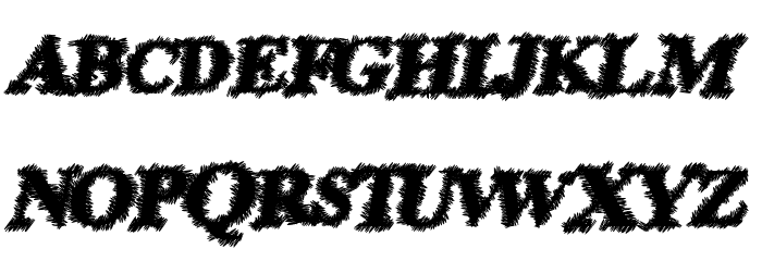 PrisonEscape Font UPPERCASE