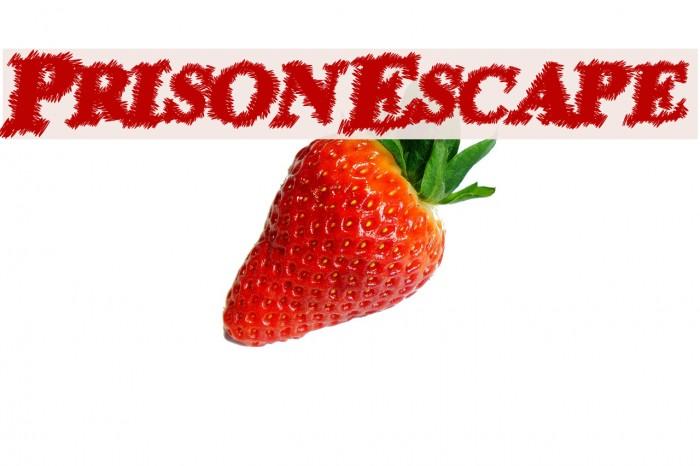 PrisonEscape Font examples