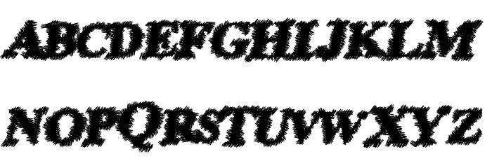 PrisonEscape Font LOWERCASE