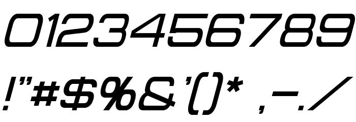 Probert Italic Шрифта ДРУГИЕ символов