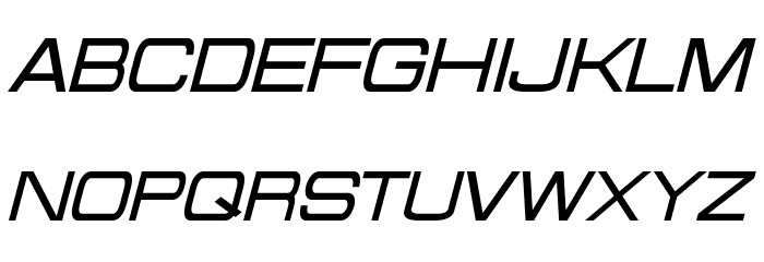 Probert Italic Font UPPERCASE
