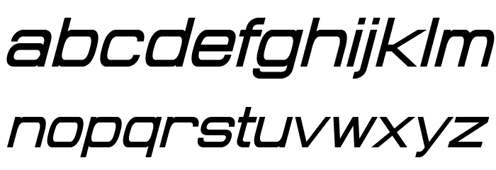 Probert Italic Шрифта строчной