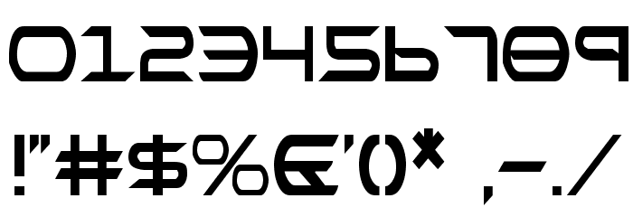 Promethean Condensed Font OTHER CHARS