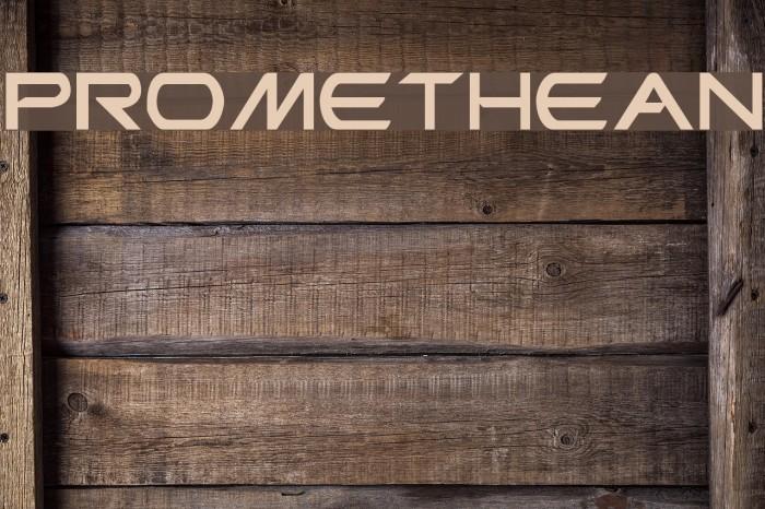 Promethean Fonte examples
