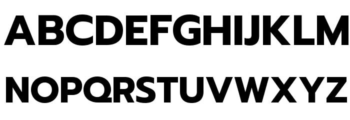 Prompt Bold Font UPPERCASE