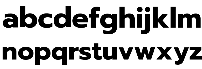 Prompt Bold Font LOWERCASE