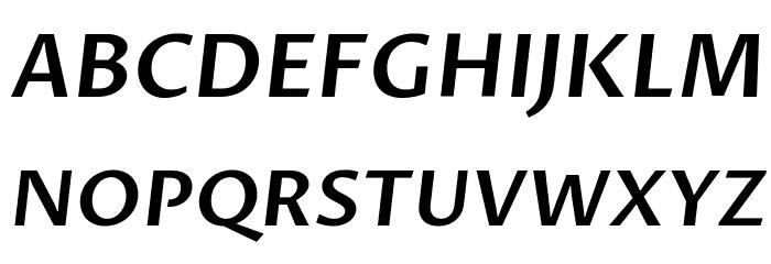Proza Libre SemiBold Italic Fonte MAIÚSCULAS