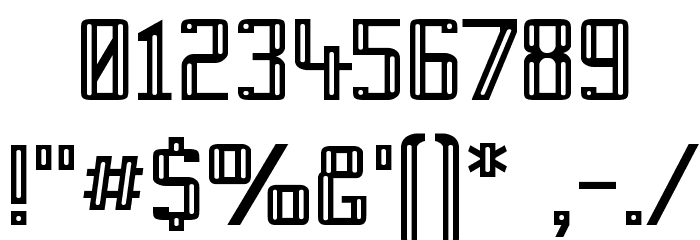 Prussian Brew Font OTHER CHARS