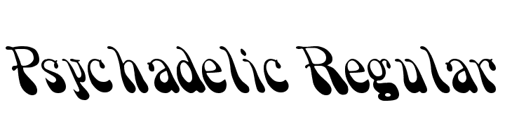 Psychadelic Regular  Free Fonts Download